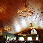 Cathedral Ceiling in Main Dining Room-Huge Groups Fit Well Here