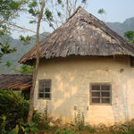 Mud House at Vang Vieng Organic Farm