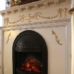 new parlor fireplace