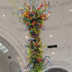 Immense chandelier by Chihuly