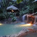 Perdidos hot springs early evening