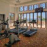 Fitness Room with view of ocean