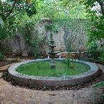 picture of one of the many fountains you will see