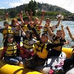 Local students enjoy a day on the river!