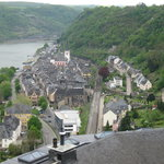 Town of St. Goar from Rheinfels Castle