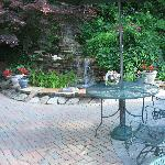 Courtyard of the Black Forest B&B