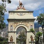 Arco de La Federación. Febrero 2010