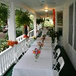 Wedding on the Porch