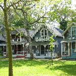Beautiful gingerbread home in Edgartown, Martha's Vineyard