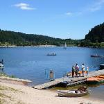 """The lake """"Schluchsee"""" is only 2 km from the house"""