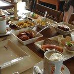 Questo è parte del fantastico brunch di Sansibar.