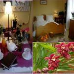 La chambre des orchidees