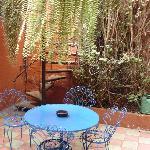 Posada Del Maple, view of indoor/outdoor patio