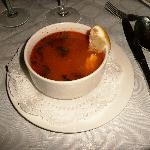 Most fabulous freshest fish soup entree