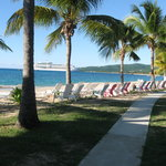 View of Frederiksted from the beach