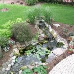 Patriot House Water Garden