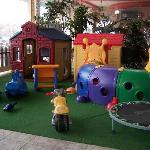 play area inside La Caretta