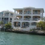 Harbour Villa from the boat