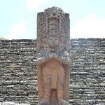 statue au centre