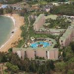 The resort... the beach is really great, with lots of room and no motorized toys like jet skis o