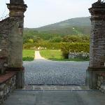Entrée de la Villa Cheli