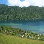 View of Majika Adventurer Resort on Hiking Track.