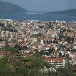 overlooking Marmaris from a nearby Hillside