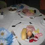 Our Breakfast At The Titian