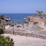 Small beach at Playa Paraiso