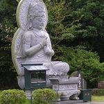 Grosser Buddha im Freien