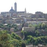 Walking through Siena