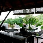 Villa Zolitude : vue depuis le restaurant