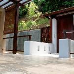 Villa Zolitude: grand deluxe pool villa : l'entrée