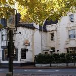 A pleasant hotel in a leafy setting