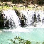 coool cascades of the Cambugahay Falls