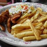 kids chicken strip meal