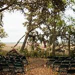 Site of wedding ceremony