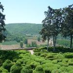 The Topiary Garden and View