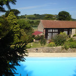 Cottages over pool