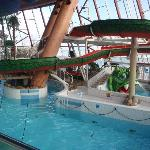 The waterpark was quite nice.