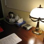 particolare scrivania