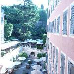 jardin magnifique au coeur de rome