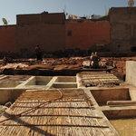 le quartier des tanneurs (secteur berbère)