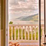 Un paysage magnifique vu du balcon