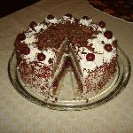 Traditional Black Forest Cherry Torte