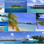Beautiful Island country-Maldives