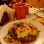 "The ""greek lasagna"" mentioned in the other review. Moussaka"