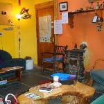 Cozy common room w/peat fire