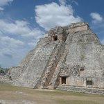 main pyramid at Uxmal
