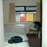 Private room, smallish but VERY comfy